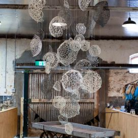 Náire Orthu, 2017. Ursula Halpin Installation detail